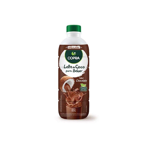 Leite de Coco Para Beber Copra Chocolate 900ml
