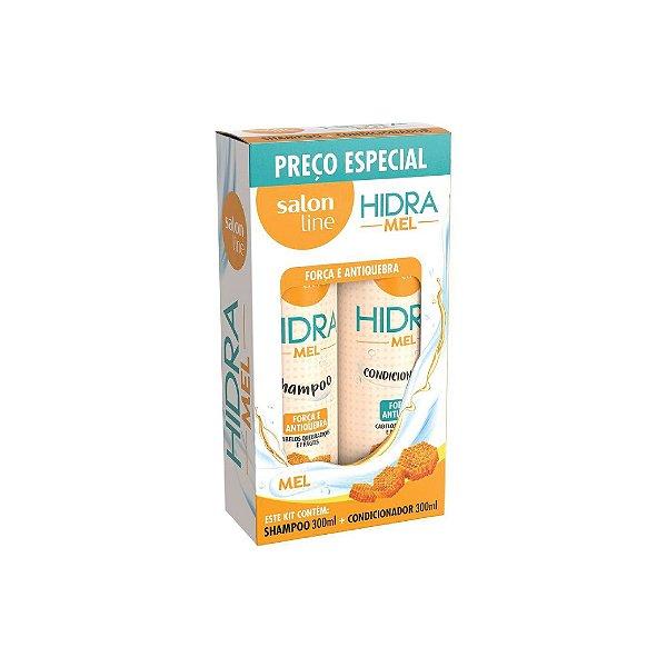 Kit Shampoo e Condicionador Salon Line Hidra Mel 300ml