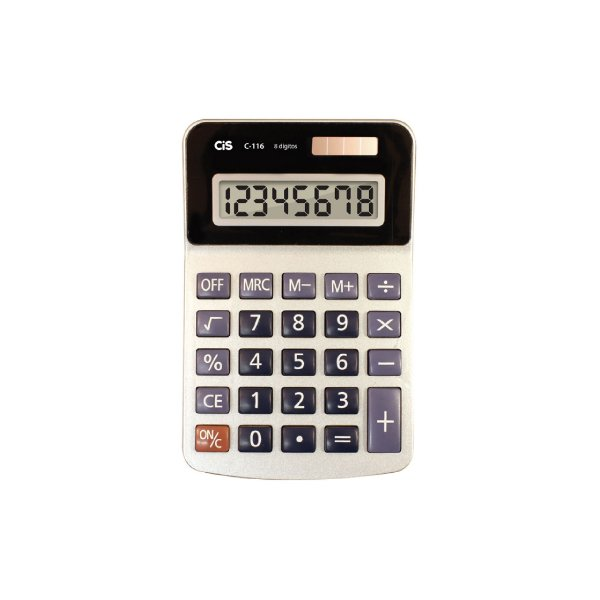 Calculadora Cis 8 Dígitos C-116