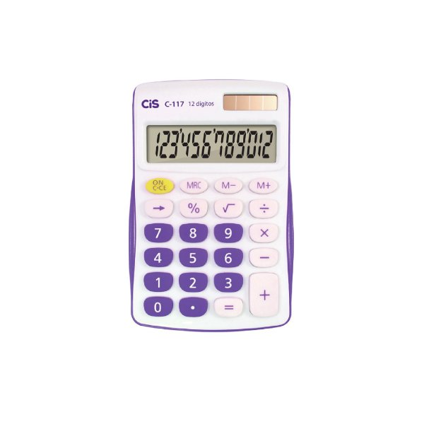 Calculadora Cis 12 Dígitos C-117