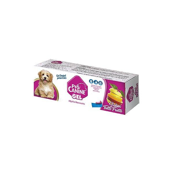 Gel Dental Pró Canine Tutti Fruti 60g