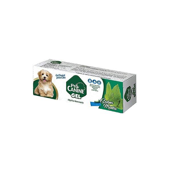 Gel Dental Pró Canine Menta 60g