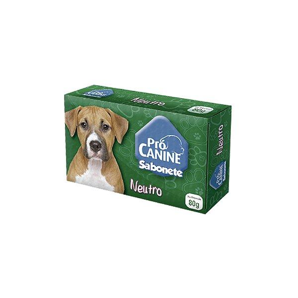 Sabonete Pró Canine Neutro 80g