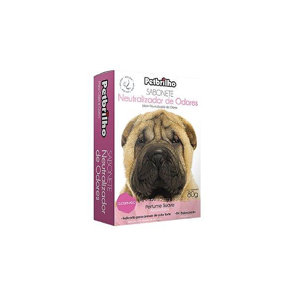 Sabonete Petbrilho Neutralizador de Odores 80g