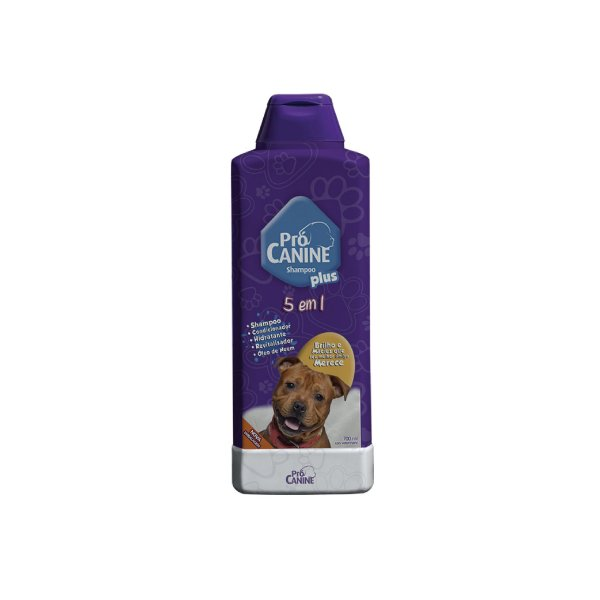 Shampoo 5 Em 1 Pró Canine 700ml