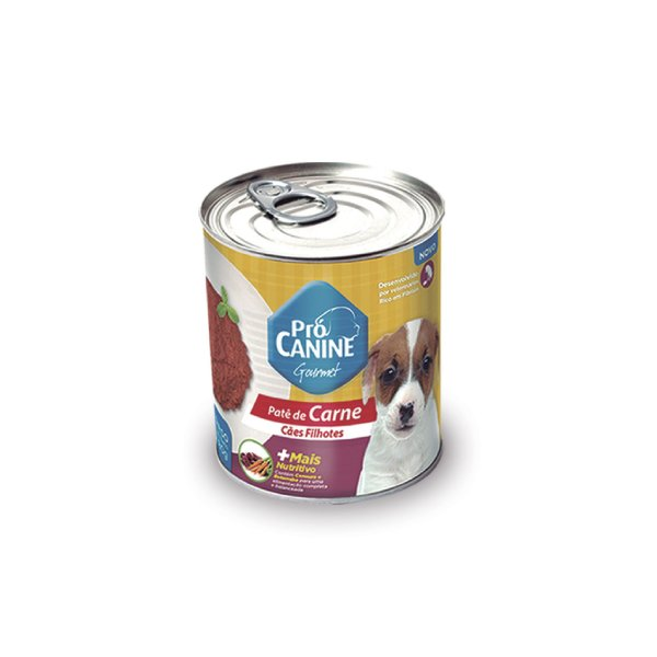 Patê de Carne Pró Canine Filhotes 280g