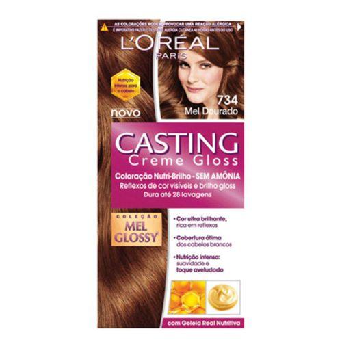 Coloração Casting Creme Gloss 734 Mel Dourado