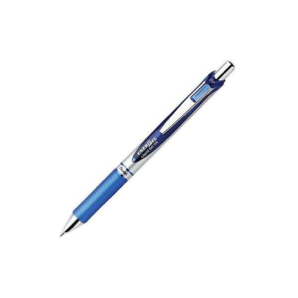 Caneta 0.7 Pentel Energel Retrátil Azul