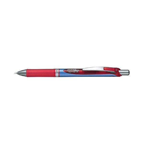 Caneta 0.5 Pentel Energel Retrátil Vermelha