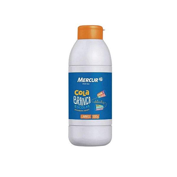 Cola Branca Mercur Pegamento Líquido 500ml