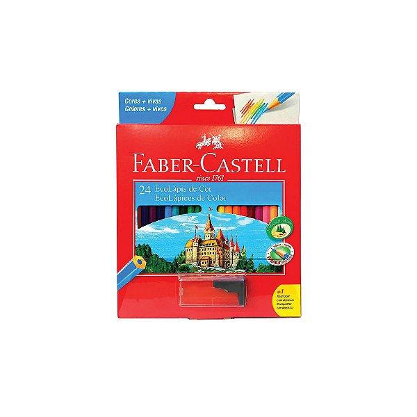 Lápis de Cor Faber Castell C/24 Cores