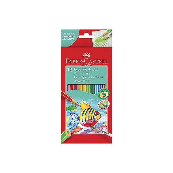 Lápis de Cor Faber Castell Aquarelável C/12 Cores
