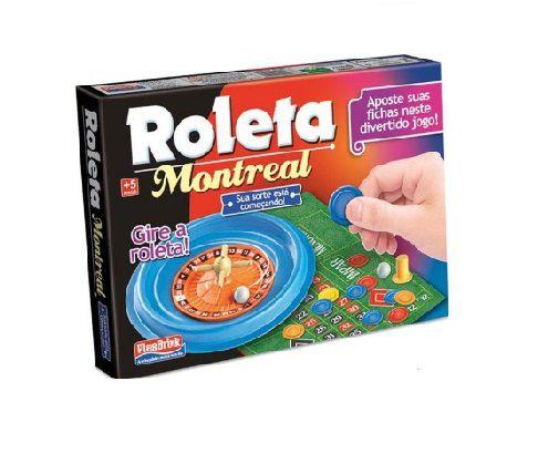 Jogo Plasbrink Roleta Montreal +5 Anos