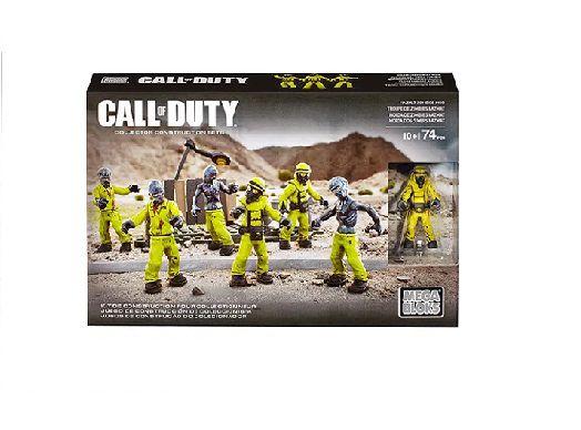 Mega Blocks Call of Duty Pacote de Zumbi Hazmat Zombies Mob +10 Anos - Mattel