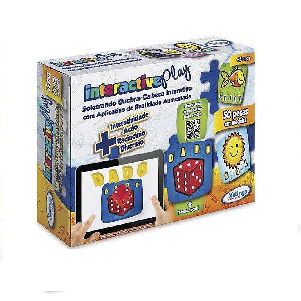 Quebra-Cabeça Xalingo Interactive Play +5 Anos