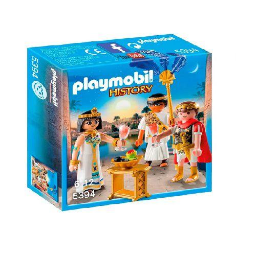 Playmobil History César e Cleópatra
