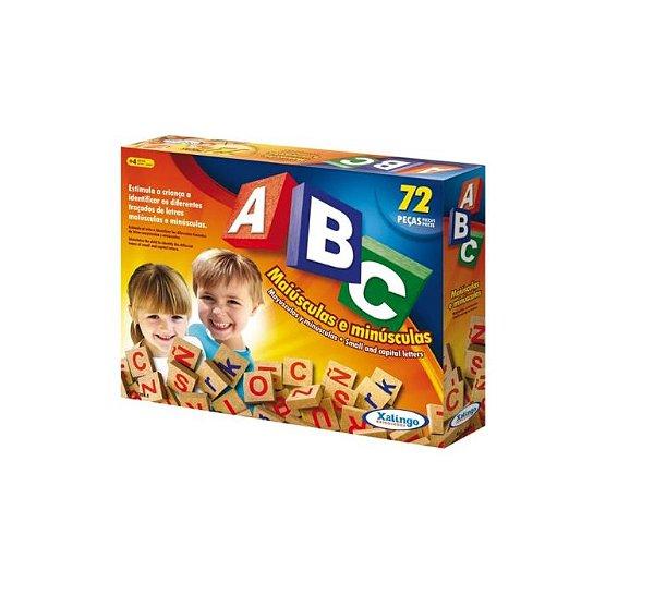 Jogo Educativo Xalingo Abc Brincando C/72 Peças
