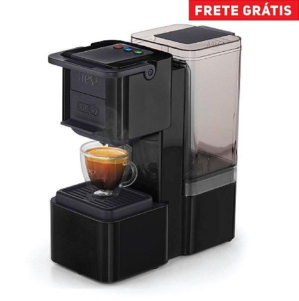 Máquina de Café Tres S27 Pop Plus Preta 220v
