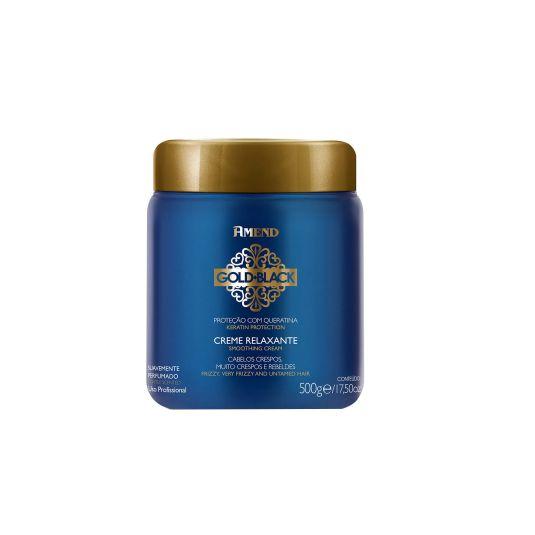 Creme Relaxante Amend Gold Black 500g