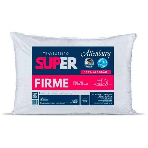 Travesseiro Altenburg Super Suporte Firme 48x68cm