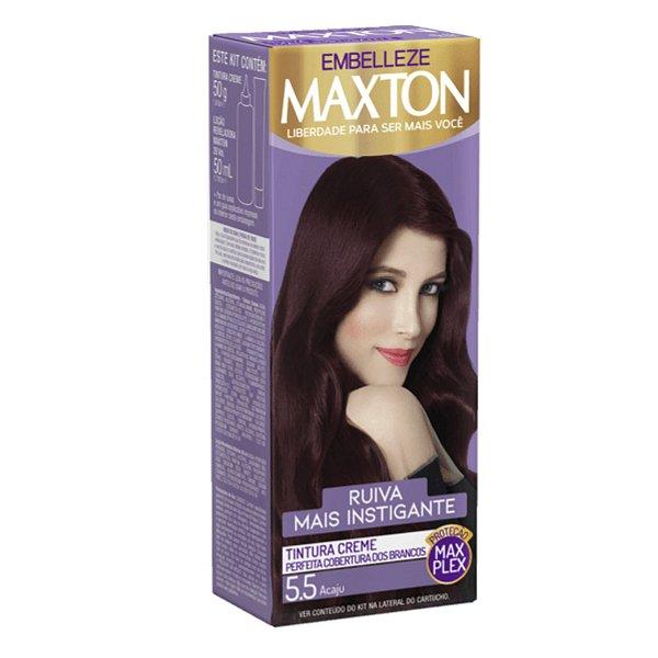 Tintura Maxton 5.5 Vermelho Acaju