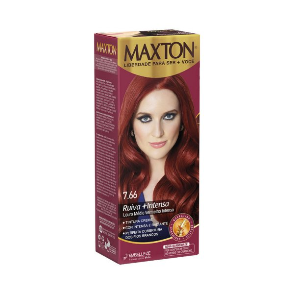 Tintura Maxton 7.6 Vermelho Fúcsia