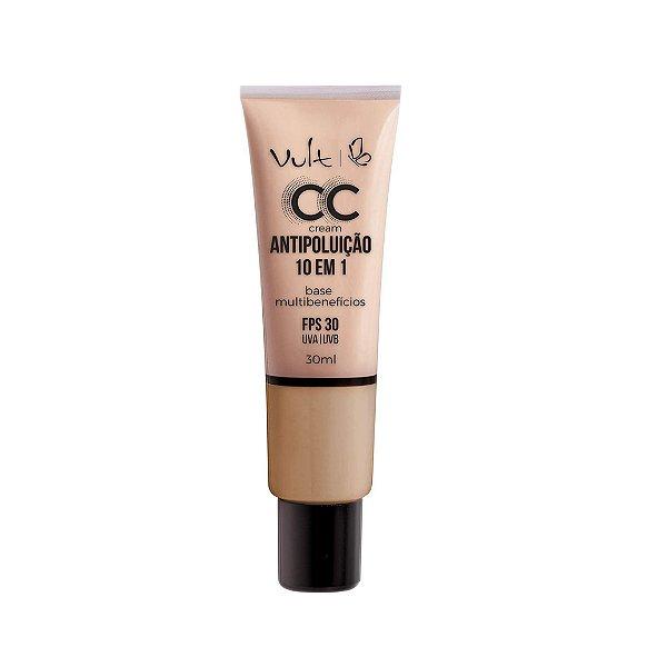 Base Vult CC Cream Antipoluição Cor MB06 30ml