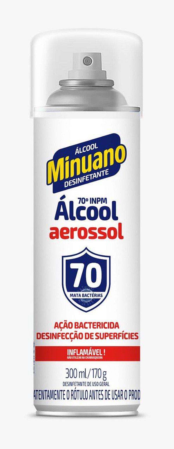 Álcool Minuano Aerosol 300ml