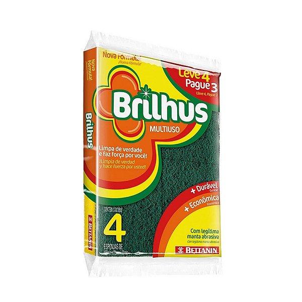 Esponja Bettanin Brilhus Multiuso Leve 4 pague 3