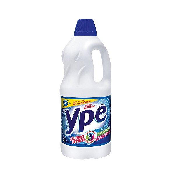 Água sanitária Ypê Cloro Ativo 2L