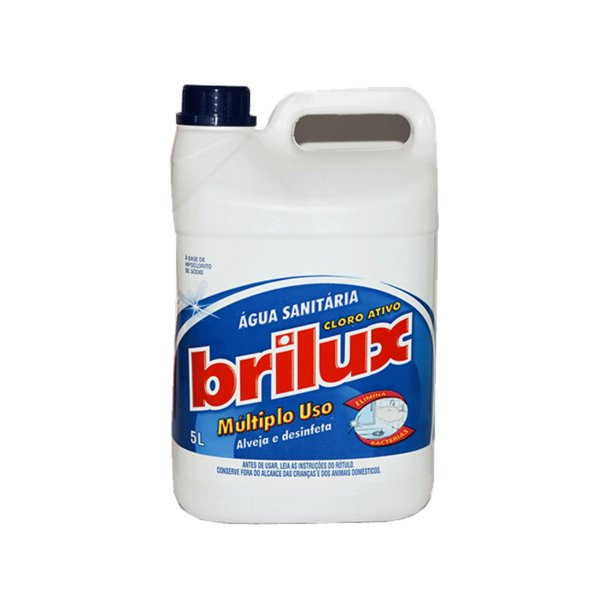 Água Sanitária Brilux 5L