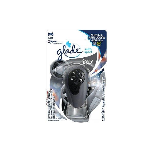 Glade Auto Sport Aparelho+Refil Atraction 7ml