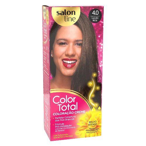 Coloração Salon Line Color Total Castanho Médio 4.0