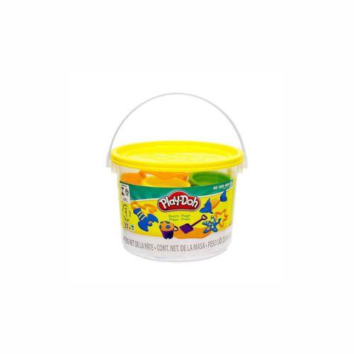Mini Balde Play-Doh Praia Hasbro 168g 23414