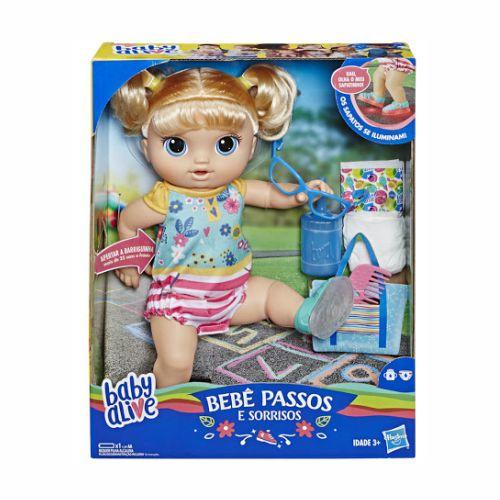 Boneca Baby Alive Sapatinhos Brilhantes Hasbro