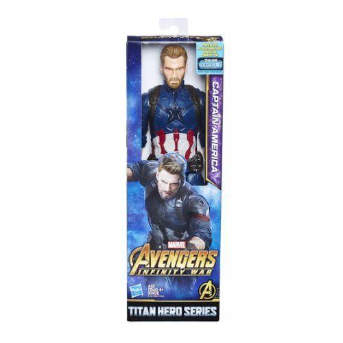 Boneco Capitão America Marvel Hasbro