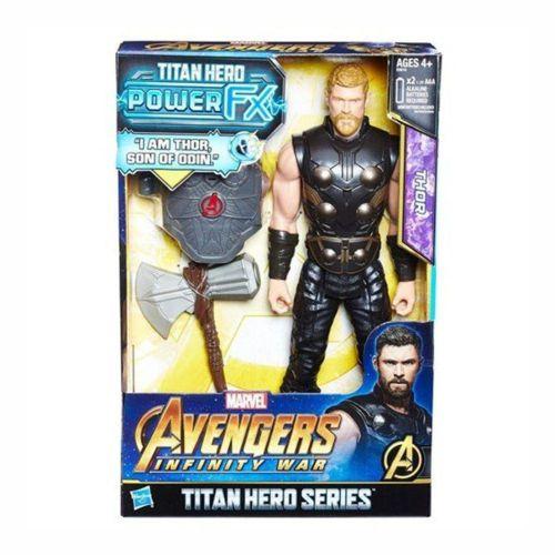 Boneco Thor Marvel Hasbro - Série Titan Hero