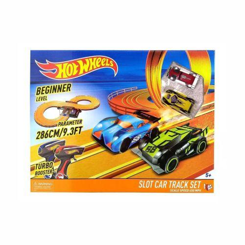 Pista Hot Weels Slot Car Track Set Multikids 286cm