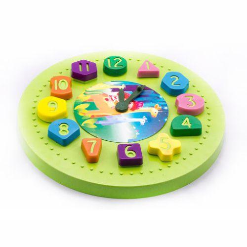 Relógio Didático Mini Toys