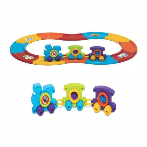 Brinquedo de Bebê Babytrain Express +6 Mercotoys