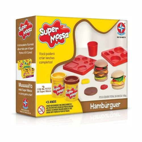 Super Massa Hambúrguer Estrela 1001301400119