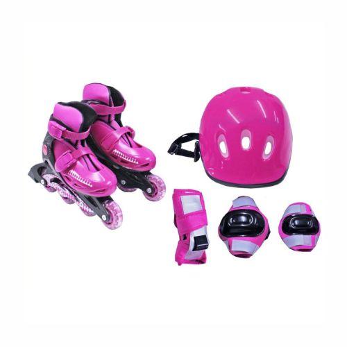 Patins Radical Rollers Rosa 36-39 Bel 365300
