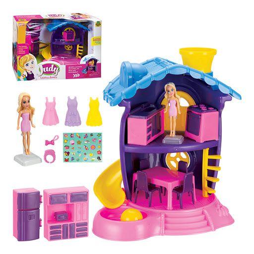 Casinha de Boneca Judy Samba Toys