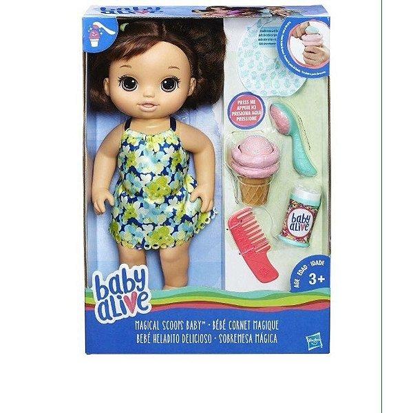 Boneca Baby Alive Sobremesa Mágica