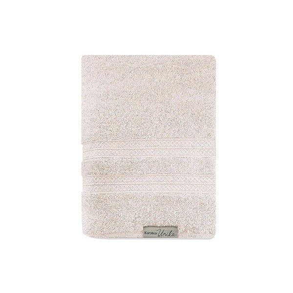 Toalha de Rosto Karsten Unika 48x80cm 100% Algodão Rosé