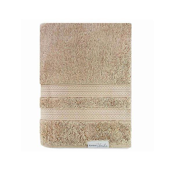 Toalha de Banho Karsten Unika 70x140cm 100% Algodão Trigo