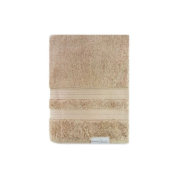 Toalha de Rosto Karsten Unika 48x80cm 100% Algodão Trigo