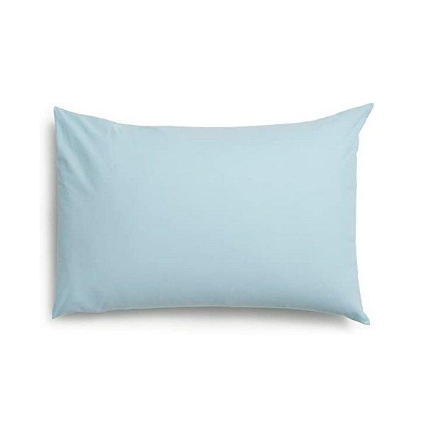 Fronha Santista Prata 100% Algodão 50x70cm 150 Fios Avulso Azul