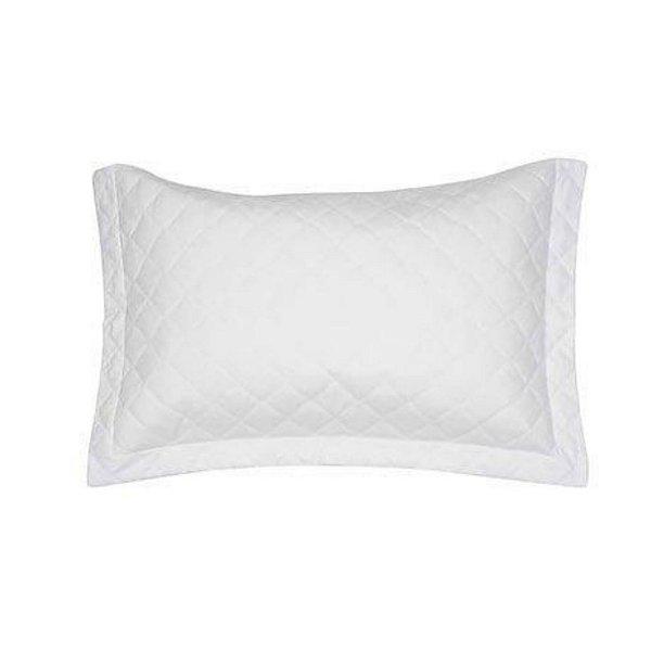 Porta Travesseiro Artex 50x70cm Matelassê Total Mix Tinto Branco