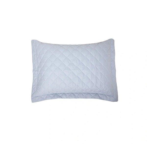 Porta Travesseiro Artex 50x70cm Matelassê Total Mix Tinto Azul
